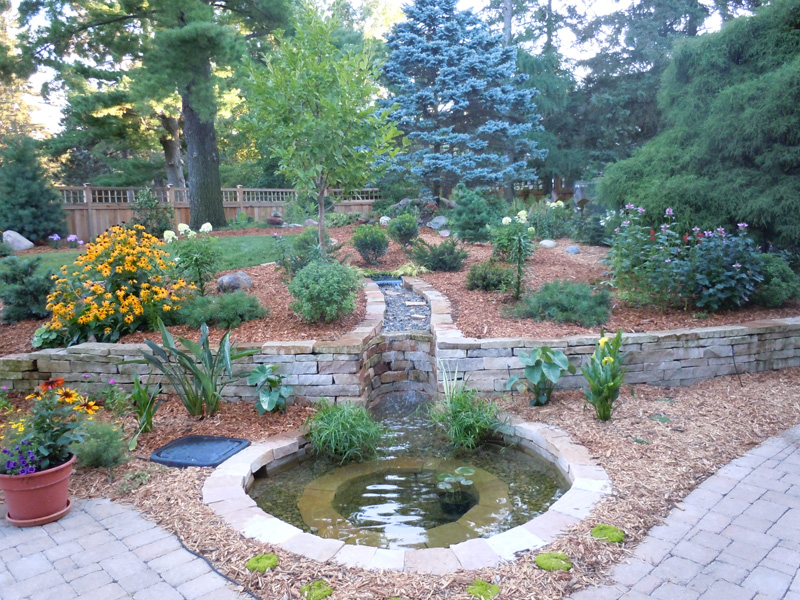 Landscape design minnesota outdoor solutions for Garden design solutions