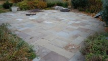 Colorful Patterned Bluestone in Eagan