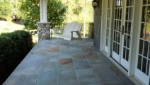 Mortared Bluestone Veneer in Minneapolis