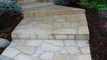 Mortared Kasota Stone in Eden Prairie