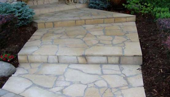 Mortared Kasota Stone in Eden Prairie
