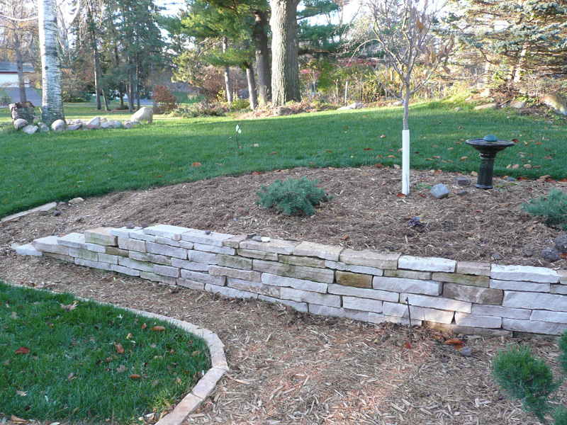 Natural Stone Structure : Natural stone walls and structures minnesota outdoor