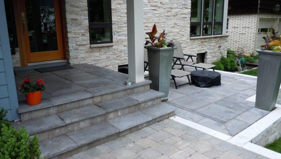 Mixed Paver surface in South Minneapolis