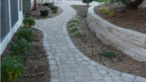 Rear Entry with Belgard Pavers