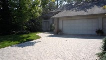 Willow Creek paver driveway in Apple Valley