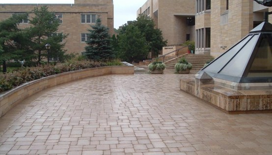Lamont Paver Surface at St. Thomas University in St. Paul