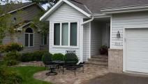 Willow Creek lakeshore paver patio in Eden Prairie