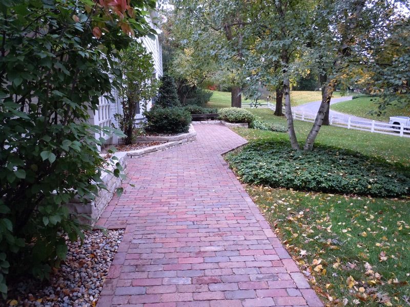 Paver Sidewalks Minnesota Outdoor Solutions