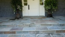 Veneered Bluestone Entry in Edina