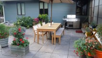 Silver Creek bluestone patio in Minneapolis
