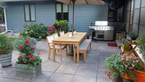 Silver Creek bluestone patio in Minneapolis